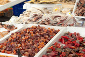 Fish on street market — Stock Photo