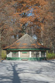 Pavilion in the English Garden — Stock Photo
