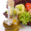 Vegetables and oil - Foto de Stock