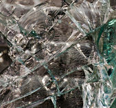 Broken glass,background of cracked window — Stock Photo