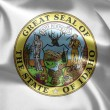 The emblem of the State of Idaho. - Stock Photo