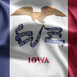 State of Iowa. - Stock Photo