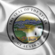 The emblem of the State of Alaska. — Stock Photo #7570050