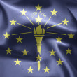 Stock Photo: State of Indiana