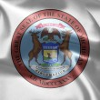 The emblem of the State of Michigan — Stock Photo #7570606