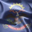 Stock Photo: State of North Dakota