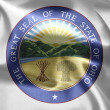 The emblem of the State of Ohio — Stock Photo