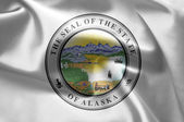 The emblem of the State of Alaska. — Stock Photo
