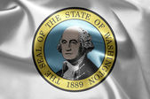The emblem of the State of Washington — Foto de Stock
