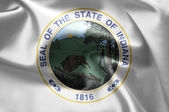 The emblem of the State of Indiana — Foto de Stock