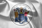 The emblem of the State of New Jersey — Foto de Stock