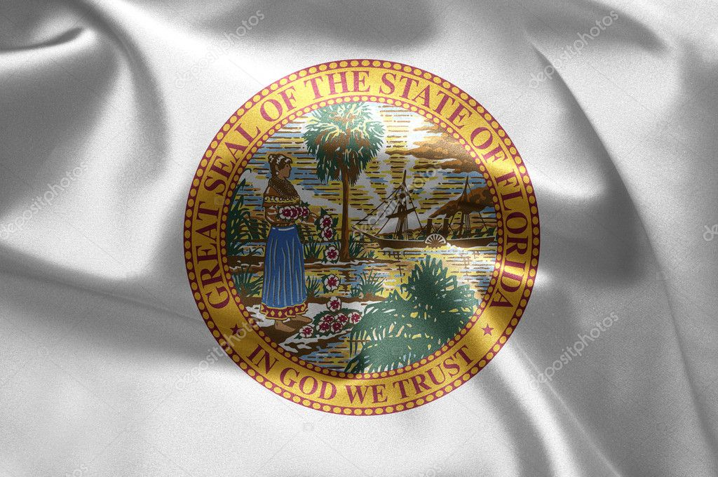 The emblem of the State of Florida — Stock Photo #7570984