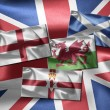 Stock Photo: United Kingdom of Great Britain and Northern Ireland