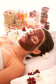 Care for face and body spa — Stockfoto