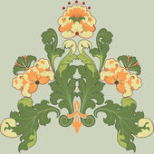 Floral — Vetorial Stock