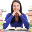 Cheerful student — Stockfoto