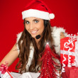 Santa's secretary — Stock Photo #6916278
