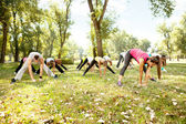 Stretching Fitness — Stock Photo