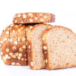 Sliced of multigrain bread — Stock Photo #7300865