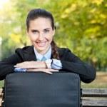 Portrait of businesswoman — Stock Photo #7363560