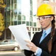 Young female engineer — Stock Photo #7363567