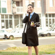 Businesswoman walking — Stock Photo #7363580