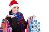 Christmas shopping — Stock fotografie