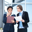 Two businesswomen working — Stock Photo #7801117