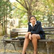 Disappointed businesswoman — Foto Stock
