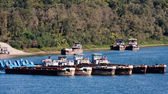Barges — Stock Photo