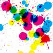 Colorful ink splatter — Stock Photo #6895720