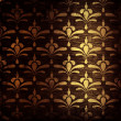 Grungy damask pattern — Stock Photo