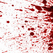 Stock Photo: Dry blood splatter