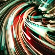 Colorful abstract glowing twirl — Stock Photo