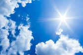 牧歌的な空 — ストック写真