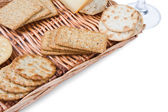 Crackers — Foto Stock