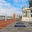 The Malecon 2000 in Guayaquil, Ecuador - Stock Photo