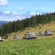 Traditional Mountain Village In Transylvania,Romania — Stock Photo #6770684