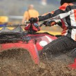 Stock Photo: ATV race abstract