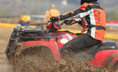 ATV race abstract — Stock Photo