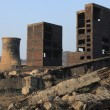 Stock Photo: Industrial ruins