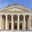 The Romanian Athenaeum in winter — Stock Photo #6917856