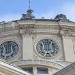 Romanian Athenaeum-detail during the winter — Stock Photo #6917959