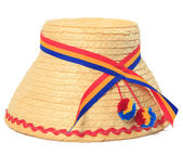 Romanian traditional hat — Foto Stock