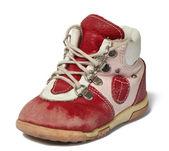 Used baby shoe — Stock Photo
