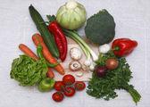Salad ingredients — Stock Photo