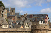 Roofs at Saint Michel — Stock Photo