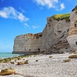 Stock Photo: Le Tileul beach