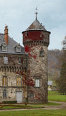 Sedaiges castle — Stock Photo