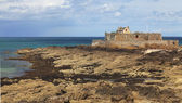 The National Fort from Saint Malo — Стоковое фото